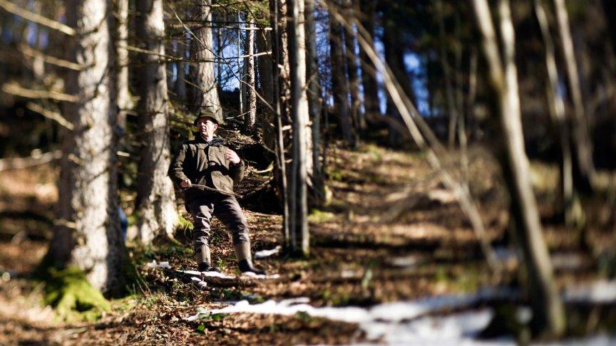 Bergbauer Ellmauer stramm wie ein Baum