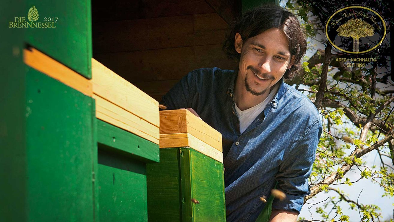 Bienenschutz mit Florian Hubmann