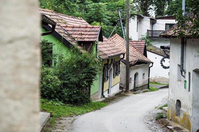 Kellergasse in Absdorf