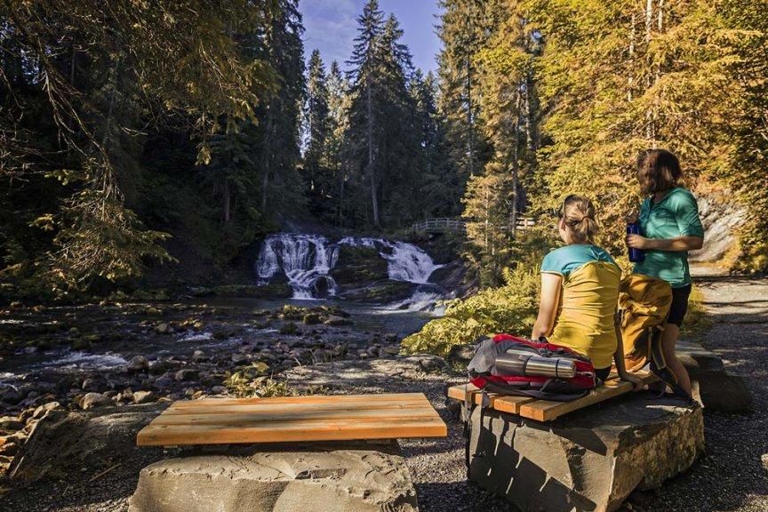 Herbstwanderung Kleinwalsertal Omgag