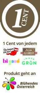 Unterstützende Eigenmarken für Blühendes Österreich