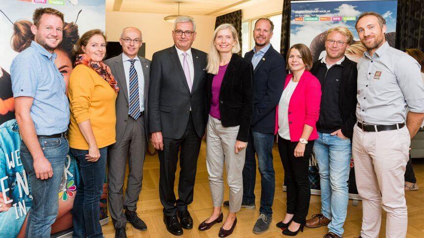 Gruppenfoto © Blühendes Österreich/Dusek