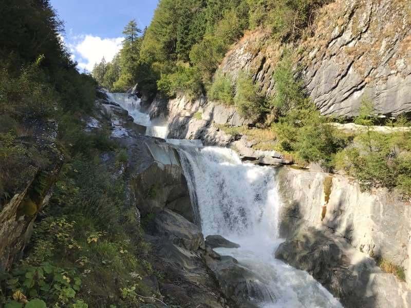 Umballfälle, Alpenfluss Isel, Virgental