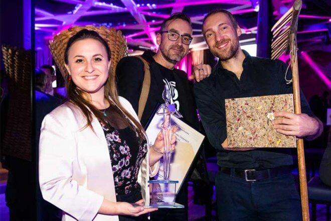 Preisverleihung Golden Pixel Award Jahresbericht © Golden Pixel Award/Franz Reiterer
