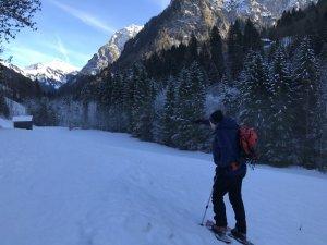 Wanderführer Franz Ferdinand Türtscher begleitet die Wanderung. (c) Christina Schwann
