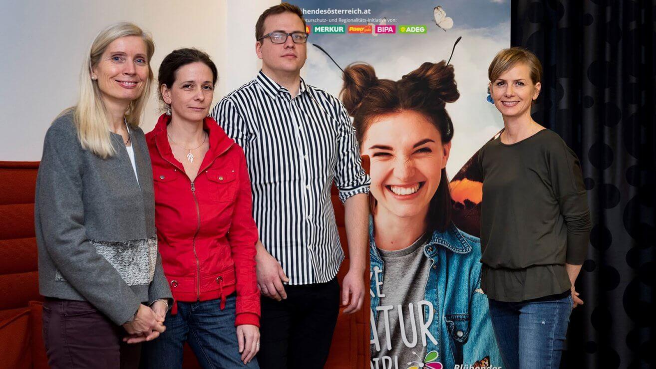 Gruppenfoto Biodiversitätsgestalterinnnen © Blühendes Österreich/ Elisabeth Mandl